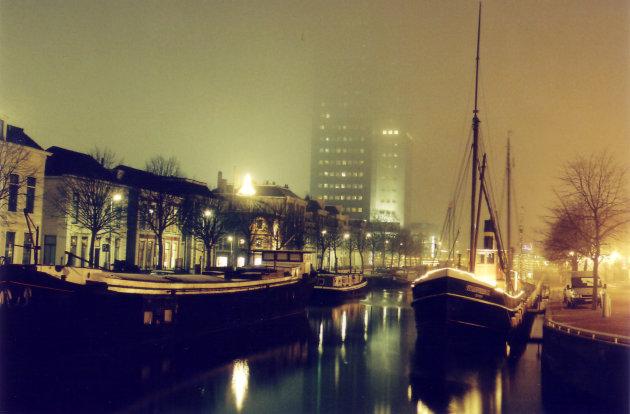 Leeuwarden at night