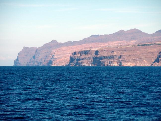 Uizicht op Gran Canaria nabij La Playa de Mogán