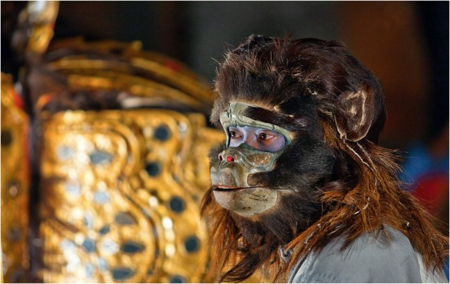 Monkey Face Hanuman