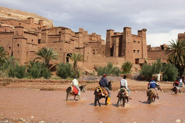modder, stro en poep: Ait Ben Haddou