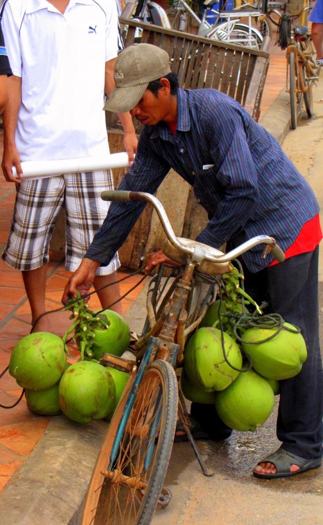 Kokosnoot transport