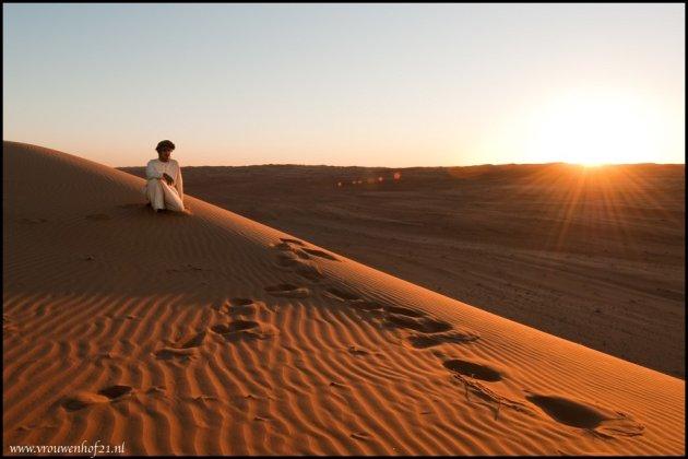 Gids in de woestijn