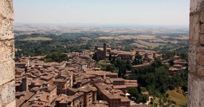 Siena en omgeving