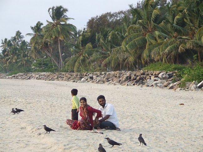 Middagje strand
