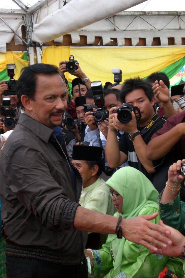 De Sultan van Brunei