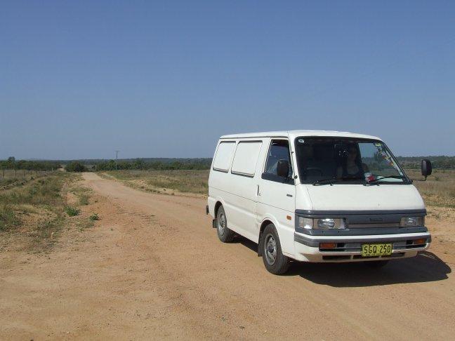 In de outback