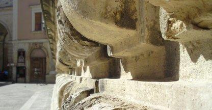 Lecce; muur