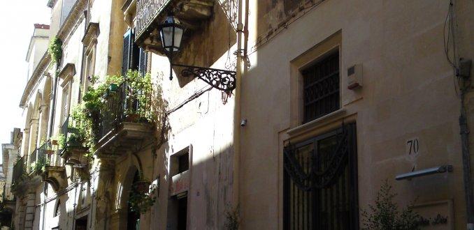 Straatje in Lecce