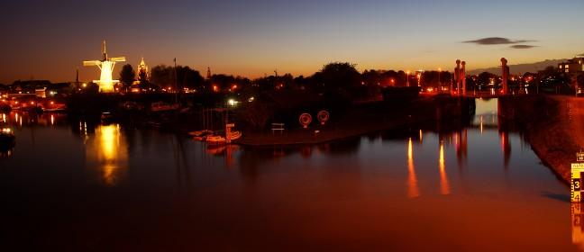 Gorinchem by night