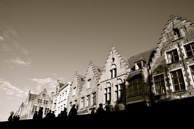 Grachtenpanden in Brugge