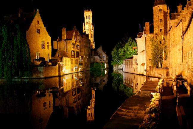 Reflection of Bruges