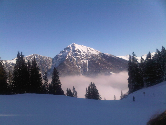 wolken skieen