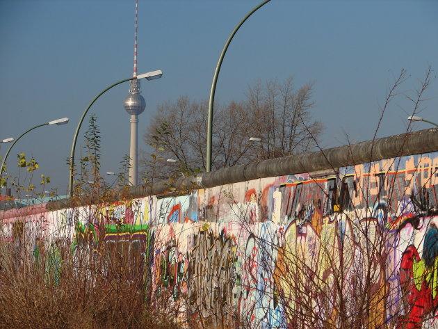 Muur met toren