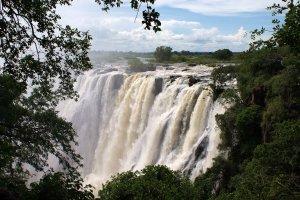 Victoria Falls vanuit de lucht!