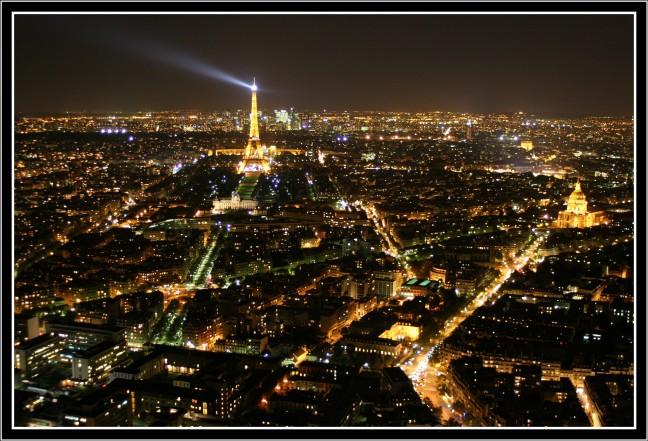 Stadsbeeld by night