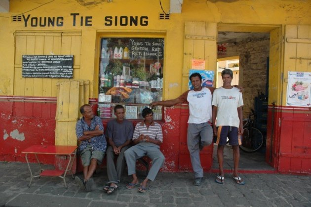 mooie mannen op Mauritius