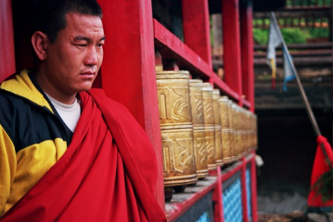 Bij de monniken