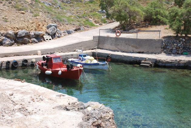 Kleinste haven van Griekenland.