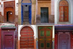 Marokkaanse deuren