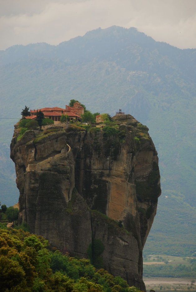 Het klooster Agia Triada, Meteora