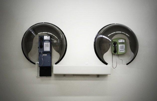 Telefoons op Gaborone International Airport