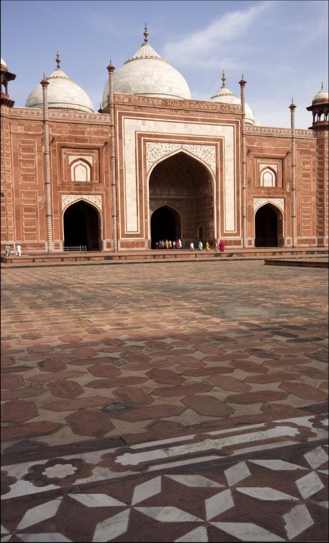 Buur van de Taj