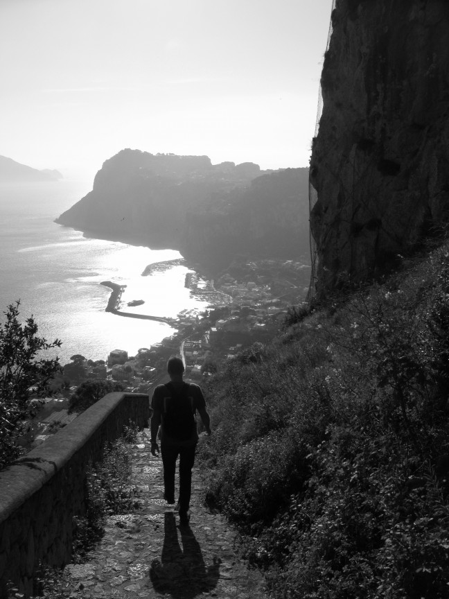 wandelen op Capri