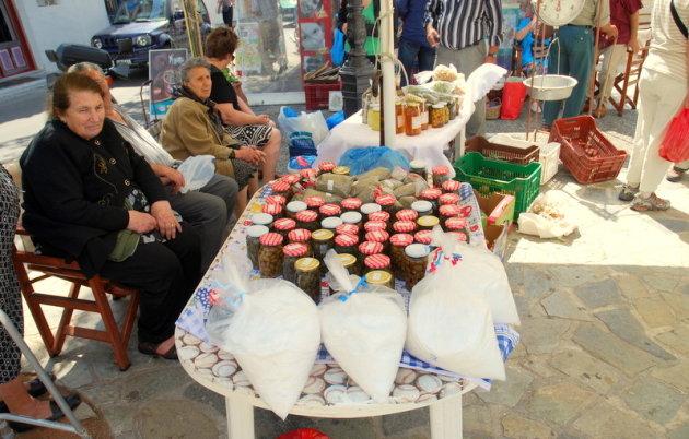 Markt in Potomos.