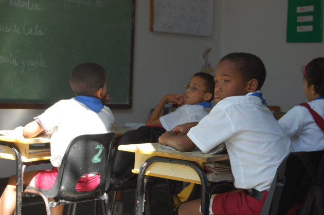 Naar school in Trinidad