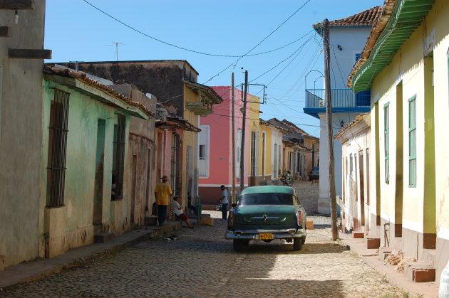 straatbeeld Trinidad