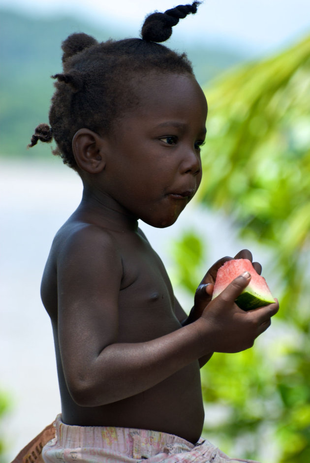 Meisje uit Loka Loka, Suriname