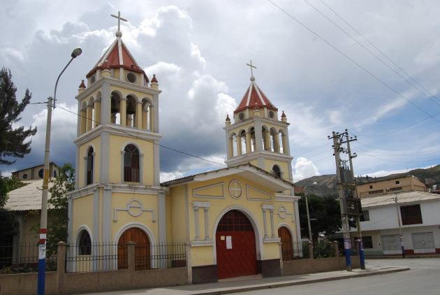 Kerk in Huaraz - Andes