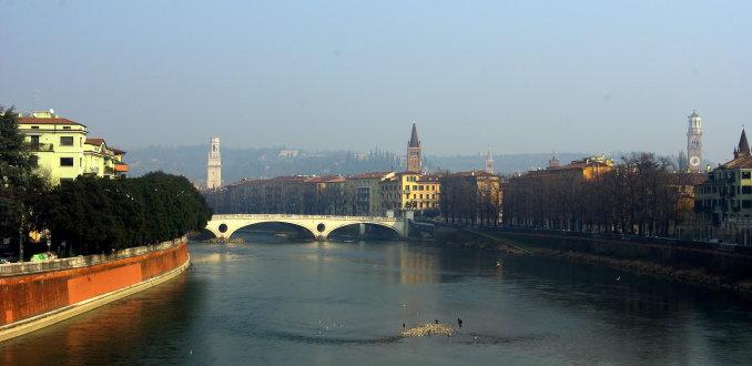 Winterview on Verona