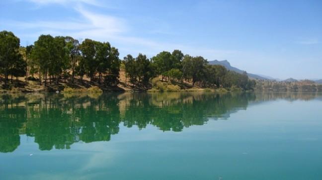 Stuwmeren bij El Chorro