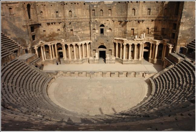 Romeins theater Bosra