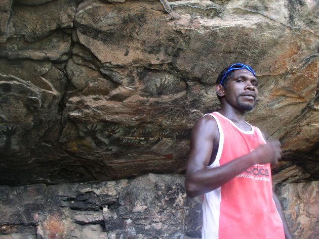 Aboriginal artsite