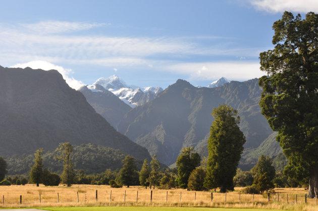 Mount Cook en Mount Tasman