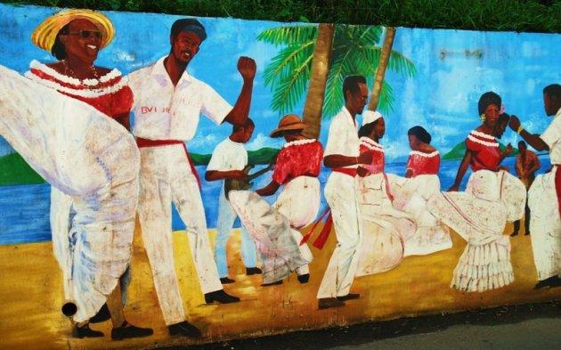 FEESTJE IN DE CARIBEAN.