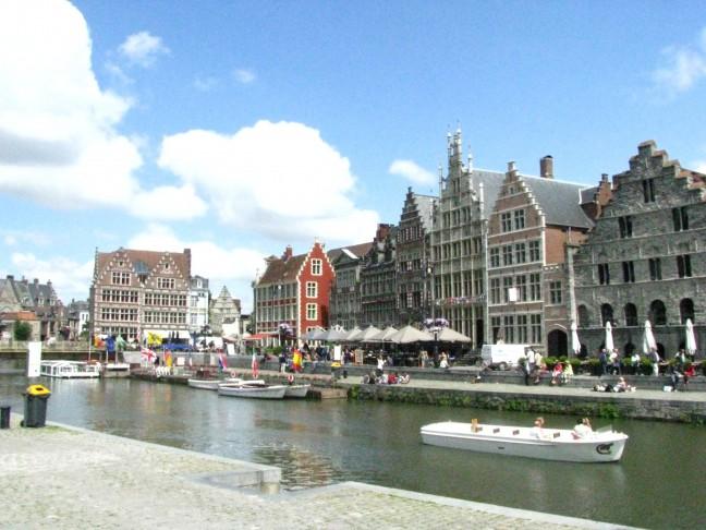 Gent, een leuk stadje net over de grens.