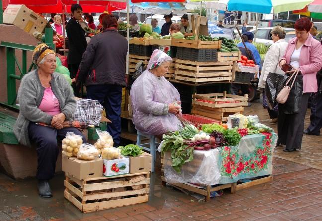 Markt in Irkoetsk