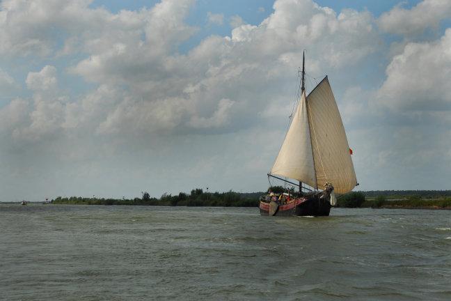 zeilschip op het water