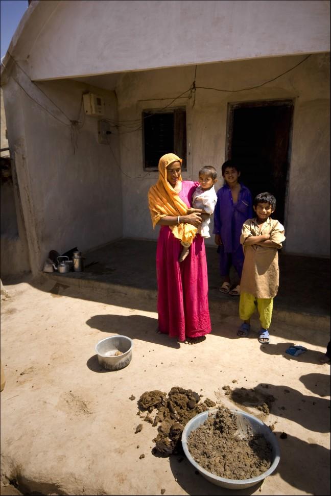 dorpsbewoners Gujarat