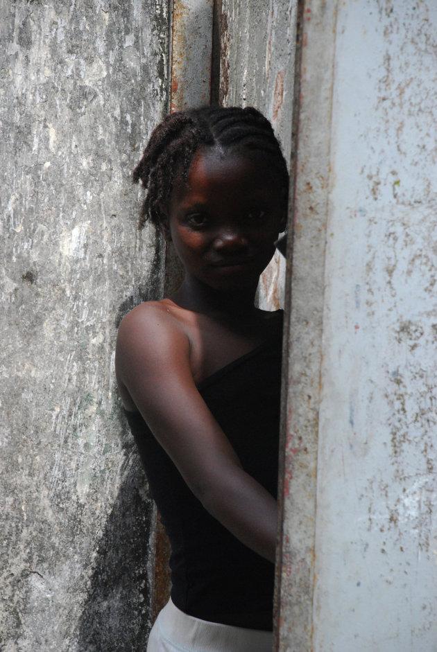 Portret meisje Monrovia