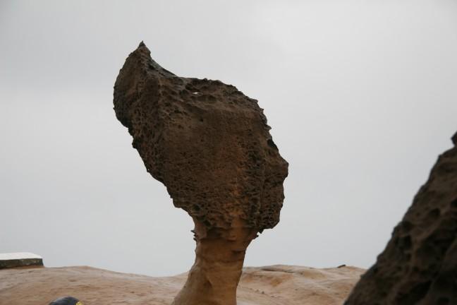 queens head, rotsformatie aan zee
