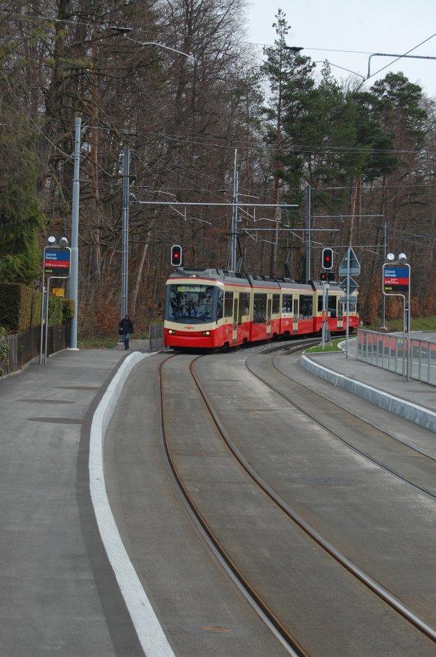 Tram/Trein van de Forchbahn