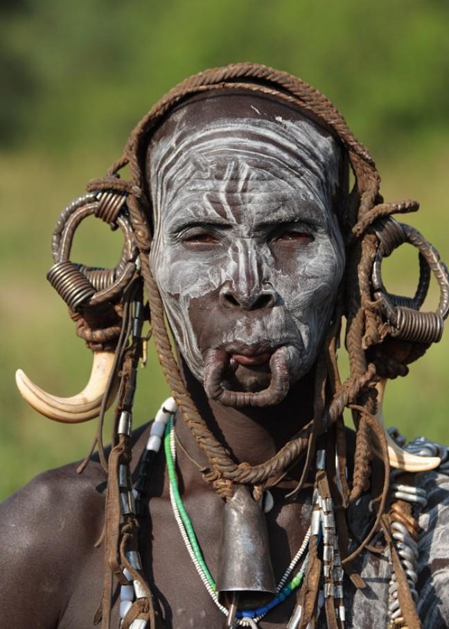 Stammen in Omo-vallei (2)