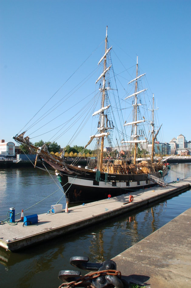 Tall Ship Jeanie Johnston