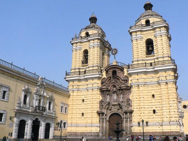 San Francisco Kathedraal en klooster in Lima