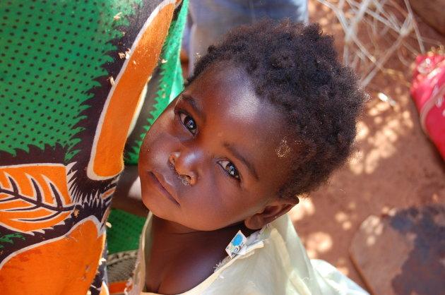 Klein Malawiaans meisje