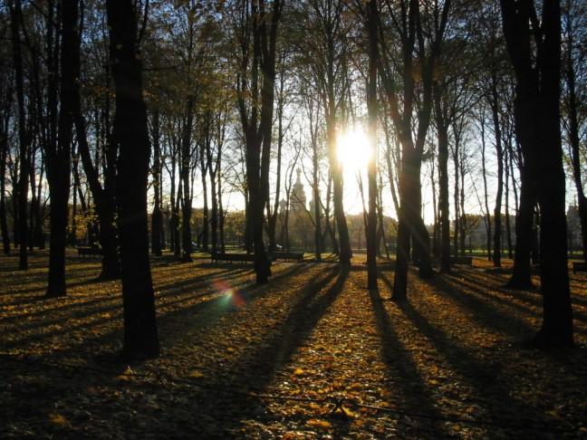 Herfst in St. Petersburg